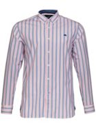 Men's Raging Bull Big and Tall Stripe Oxford