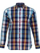 Large Check Poplin Shirt