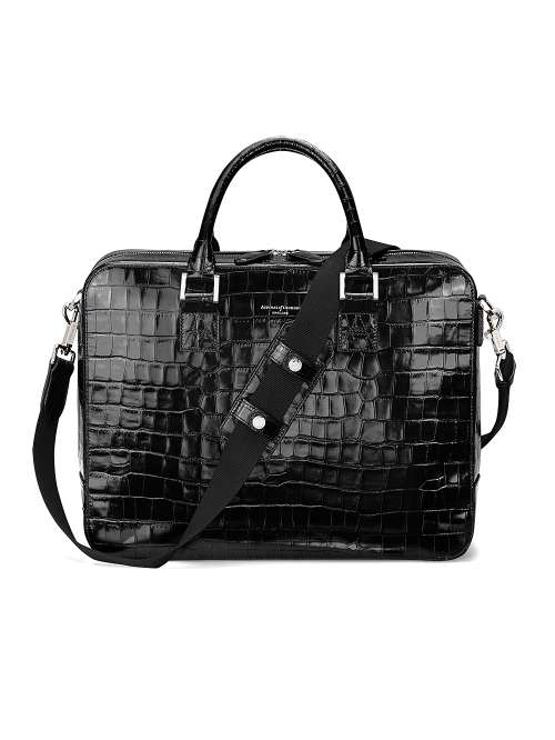 Aspinal of London Mount Street Large Briefcase - House of Fraser e7d1bfbafb0ec
