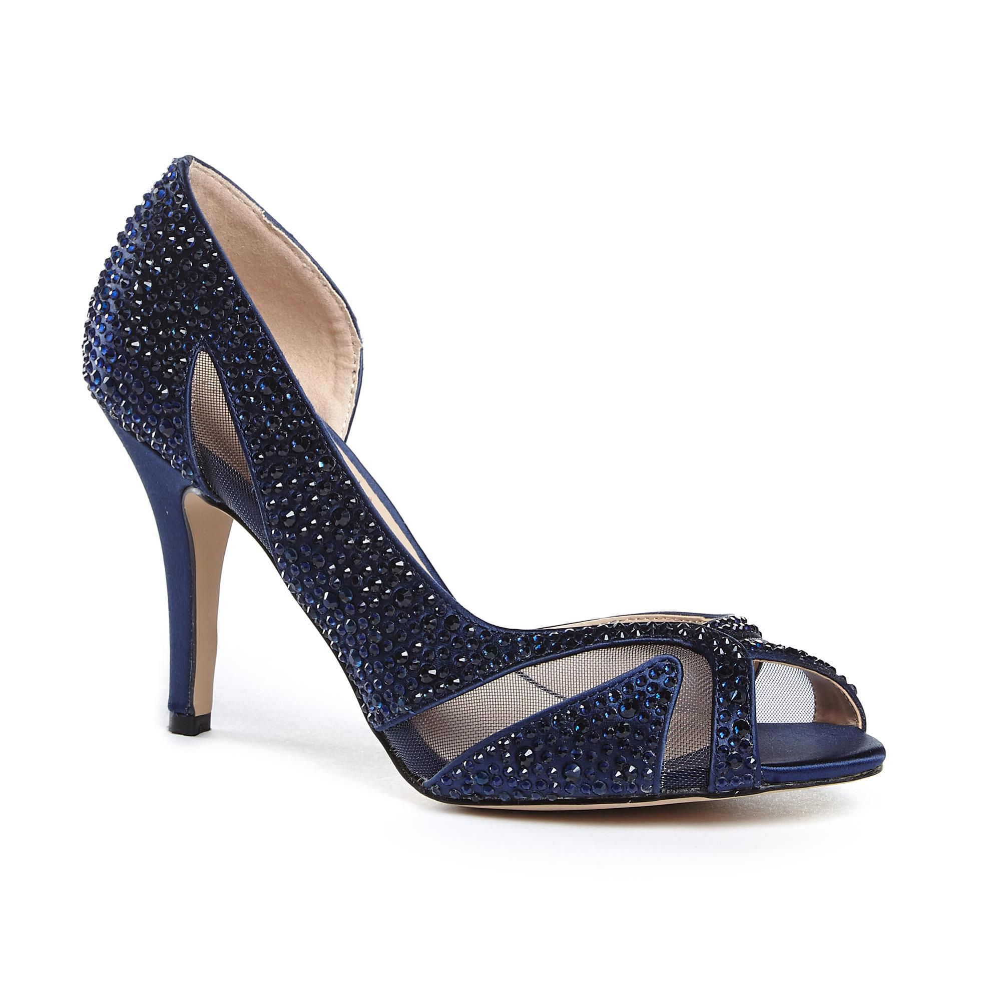 Blue wedding shoes at house of fraser paradox london pink catrina diamante peep toe shoes junglespirit Image collections
