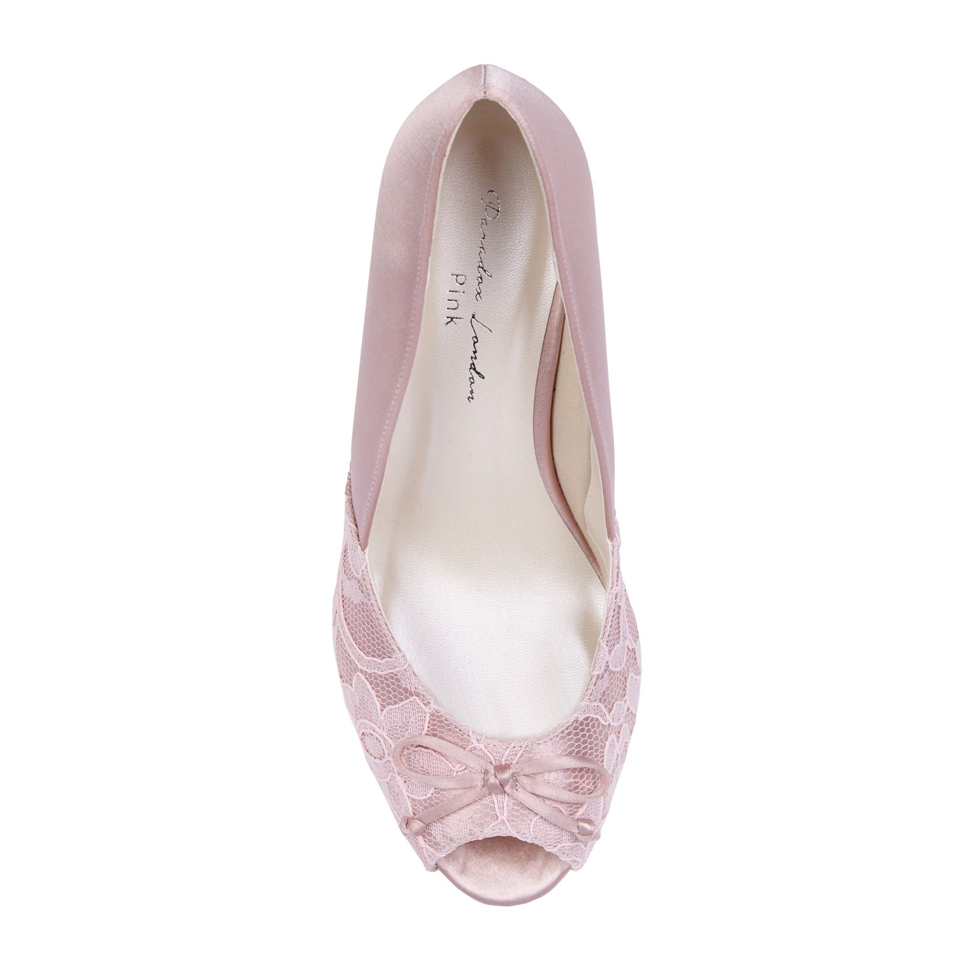 a760748ed09 Paradox London Pink Dariela Wide Fit Mid Heel Peep Toe Shoes - House Of  Fraser