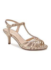 47abbd6c091f71 Paradox London Pink Gold Ladies Shoes at House of Fraser