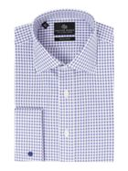 Men's Chester Barrie Jacquard Dogtooth Shirt