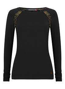 Elle Sport Sleek Long Sleeved Performance Top ... e925cee1987