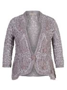 Lace Jacket With Cornelli Trim