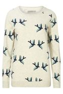 Sugarhill Boutique GRAPHIC BIRDS SWEATER