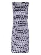 Sugarhill Boutique Geo Stamp Pleated Shift Dress