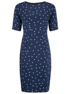 Sugarhill Boutique Flora Cat Polka Shift Dress