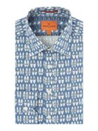 Men's Simon Carter Shoe Print shirt
