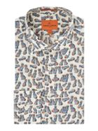 Men's Simon Carter Liberty China Dog print shirt