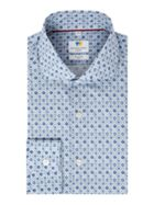 Men's Richard James Mayfair Watercolour Mosaic Print Slim