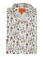 Men's Simon Carter Exclusive Liberty Fete Print Shirt