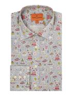 Men's Simon Carter Liberty High Tea Print Shirt