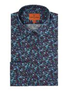 Men's Simon Carter Liberty Winter Berry Print Shirt