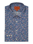 Men's Simon Carter Liberty Gaggle Print Shirt