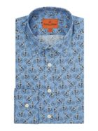 Men's Simon Carter Penny Farthing Print Shirt
