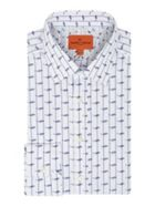 Men's Simon Carter Whale Stripe Print Shirt