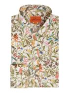 Men's Simon Carter Foliage Print Shirt