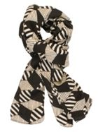 Chesca Abstract Stripe Scarf