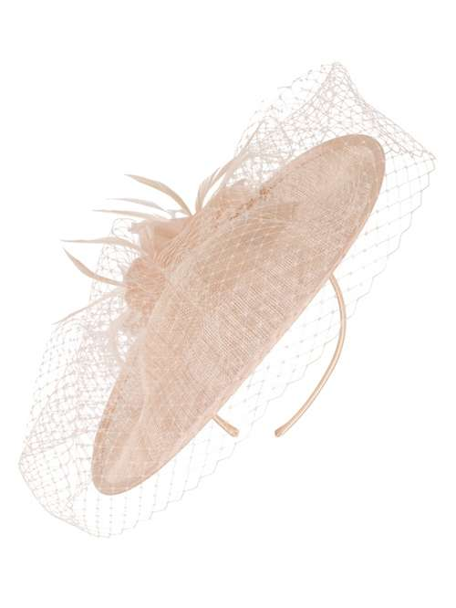 Chesca Sinamay Disc Veil   Feather Hatinator - House of Fraser 2aeef4d57be