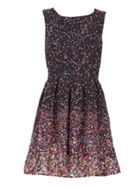 GOLDKID LONDON Diamond Print Dress
