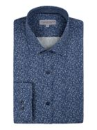 Men's Alexandre of England Halton Slim Blue Ditsy