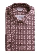 Men's Alexandre of England Leven Pink Circles Shirt