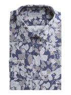 Men's Alexandre of England Popham Navy Floral Shirt