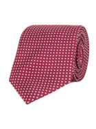 Alexandre of England Smyth Red Geo Tie