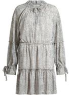 AllSaints Adara Leodot Printed Dress
