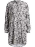 AllSaints Cayla Paisley Shirt Dress
