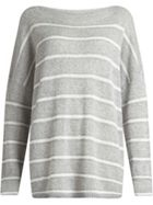 AllSaints Misty Crew Neck Striped Jumper