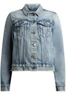AllSaints Hay Denim Buckle Jacket