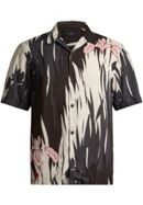 Men's AllSaints Nahiku Short Sleeve Printed Shirt