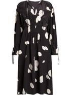 AllSaints Lavete Rodin Printed Silk Dress
