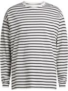 Men's AllSaints Kleve Stripe Long Sleeve Crew T-Shirt