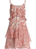 AllSaints Enya Kazuno Printed Dress