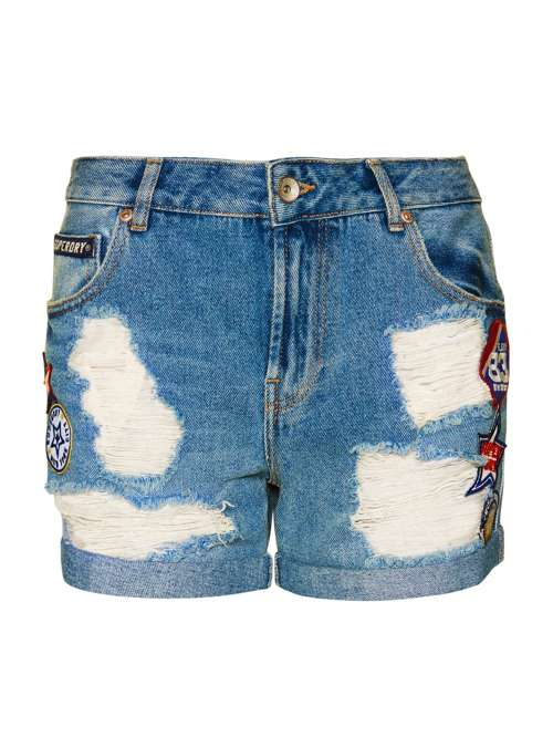 Superdry Steph Boyfriend Shorts - House of Fraser 7d2113f61cce