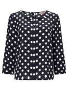 Phase Eight Marilyn Spot Blouse