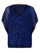 Phase Eight Antonella Sequin Knitted Top