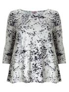 Phase Eight Blurred Print Top