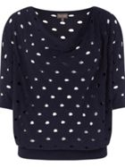 Phase Eight Halina Hole Detail Knitted Top