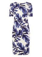 Phase Eight Eloise Palm Print Dress