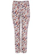 Erica Floral Jacquared Trousers