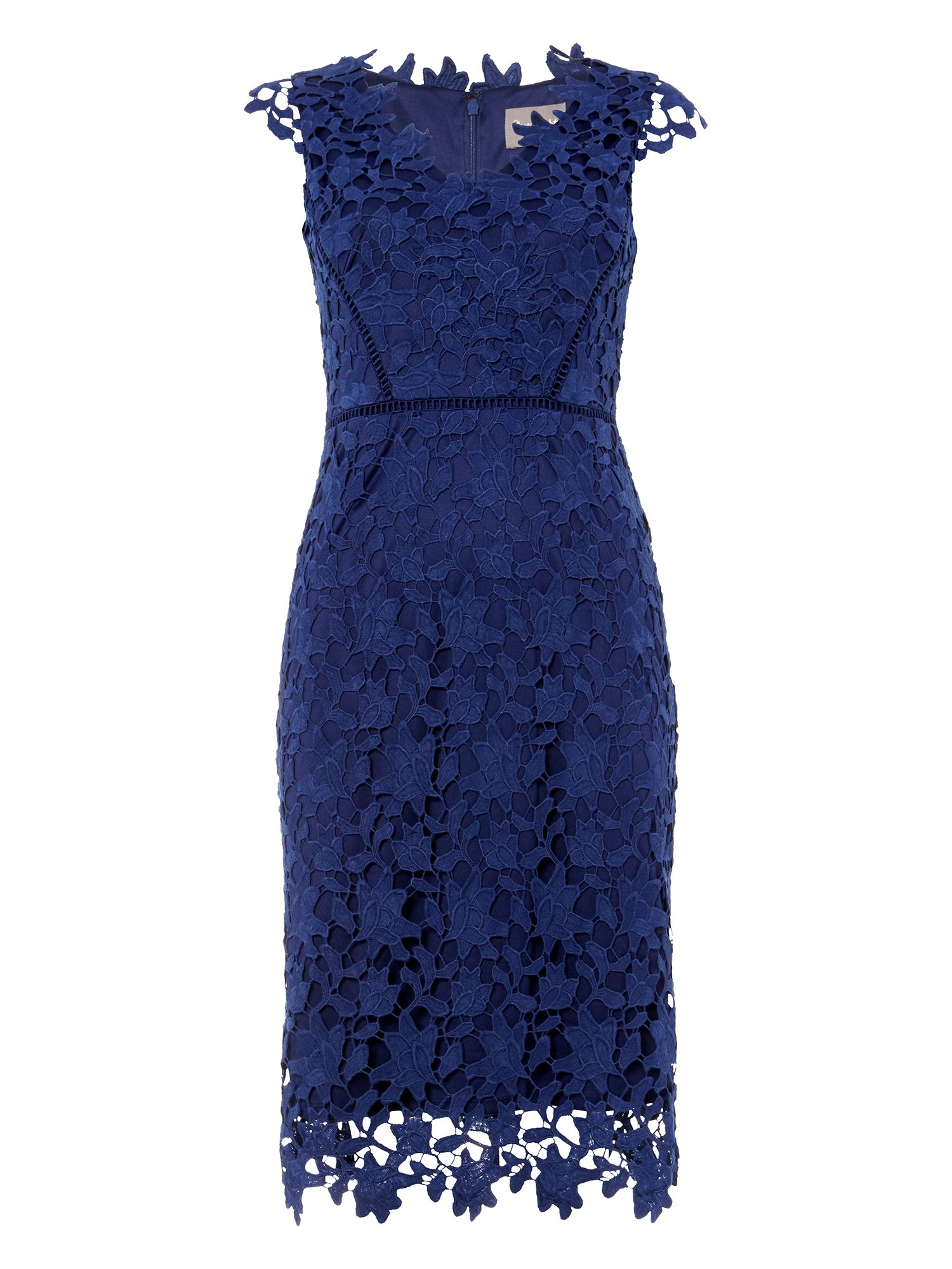 Black dress house of fraser - Phase Eight Petals Lace Dress
