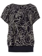 Phase Eight Jacquard Double Layer Cecily Top