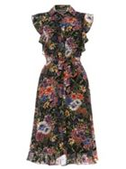 Phase Eight Riley Ruffle Floral Dress