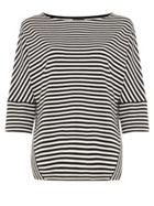 Phase Eight Sati Stripe Ponte Top