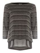 Phase Eight Secret Burnout Stripe Top