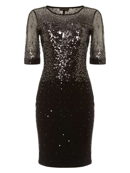 Phase Eight Orlena Ombre Sequin Knit Dress House Of Fraser